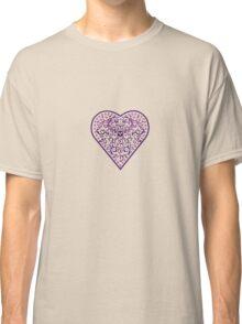 Ironwork heart purple Classic T-Shirt