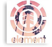 Element Metal Print