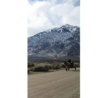Comin Down The Dirt Road Photographic Print