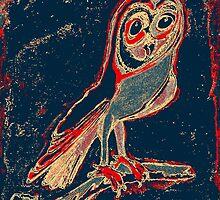 Barn Owl by metrostation