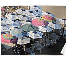 Beach Restaurant - Restaurant en la Playa, Olas Altas Poster