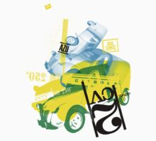 Citroen AZU / 2CV Van by Tedri