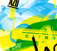 Citroen AZU / 2CV Van Sticker