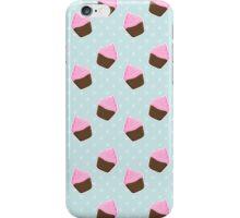 Chocolate Cupcake Pattern  iPhone Case/Skin