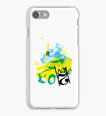 Citroen AZU / 2CV Van iPhone Case/Skin