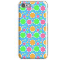 Rainbow Sherbet Polka Dots  iPhone Case/Skin