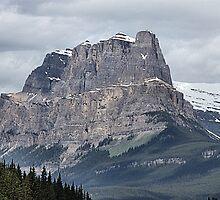 So Majestic - Castle Mountain by Leslie van de Ligt