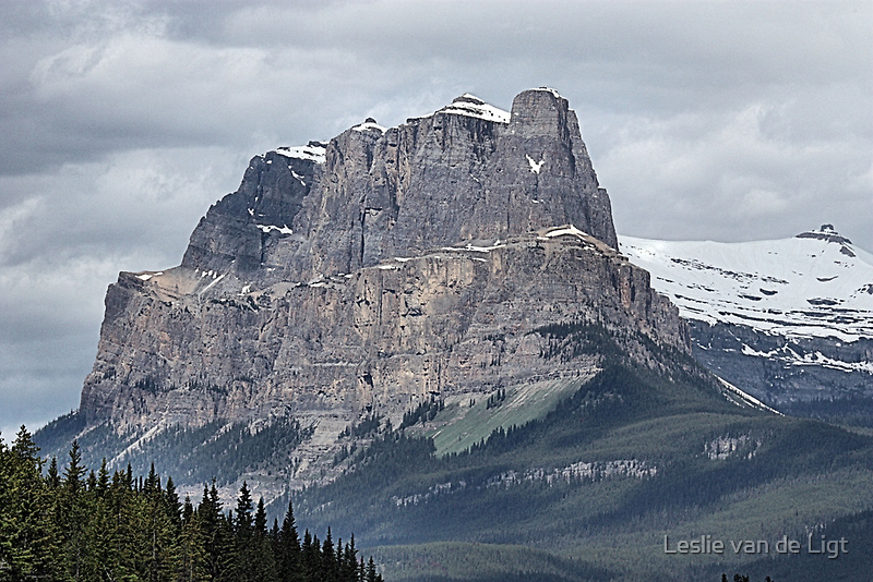 So Majestic - Castle Mountain by Leslie van de Ligt