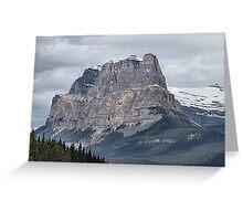 So Majestic - Castle Mountain Greeting Card