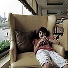 club chair by Patrick Monnier