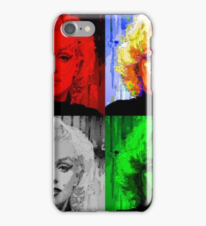 Marilyn - Quad Pop Art iPhone Case/Skin