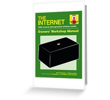 THE INTERNET Greeting Card