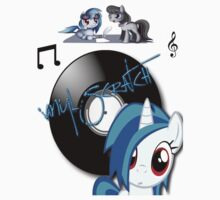vinyl scratch by little-dashie