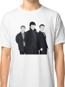 Sherlock,John and Jim Classic T-Shirt