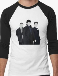 Sherlock,John and Jim Men's Baseball ¾ T-Shirt
