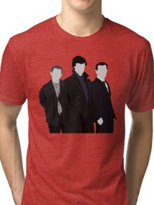 Sherlock,John and Jim Tri-blend T-Shirt