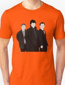 Sherlock,John and Jim Unisex T-Shirt