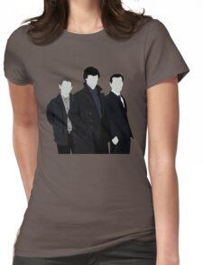 Sherlock,John and Jim Womens Fitted T-Shirt