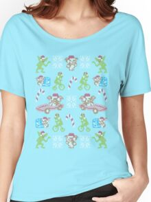 Naughty and Nice Women's Relaxed Fit T-Shirt