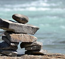 The Inuit Inukshuk by Nick Thompson