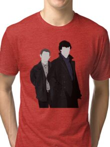 Sherlock and John Tri-blend T-Shirt
