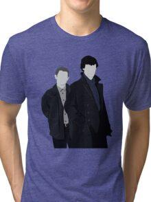 Sherlock and John Tri-blend T-Shirt