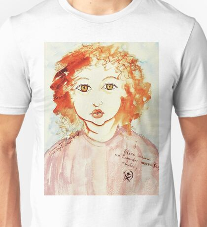 Alice Still In Wonderland Unisex T-Shirt