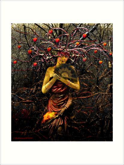 THE EMPRESS (tarot card) by Larry Butterworth