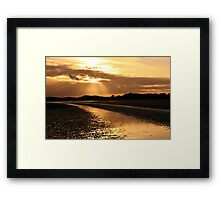 Donabate Beach Framed Print