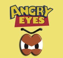 Angry Eyes Kids Clothes