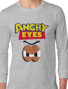 Angry Eyes Long Sleeve T-Shirt