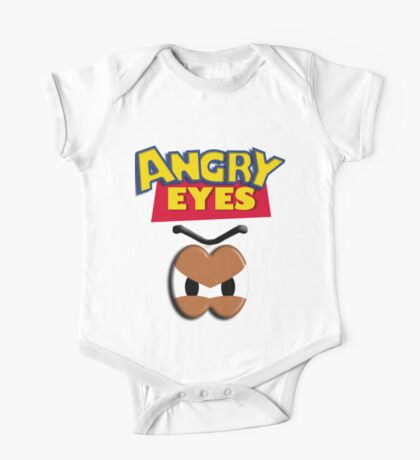 Angry Eyes One Piece - Short Sleeve