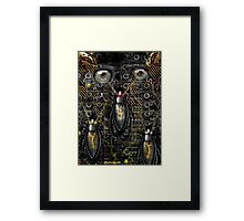 BIG BROTHER IS WATCHING Framed Print