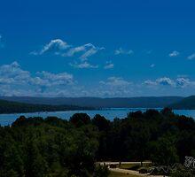 Lake View - Sand Dunes - Traverse City, MI  by pramodmeee
