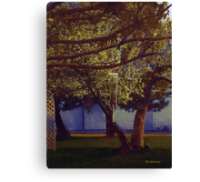 Spring Green in May Moonlight Canvas Print