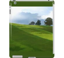 Rolling Green Fields at End of Day iPad Case/Skin