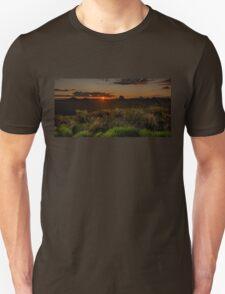 Glass House Mts Sunset Unisex T-Shirt