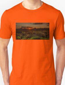 Glass House Mts Sunset T-Shirt