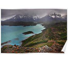 The Grandeur of Torres del Paine Poster