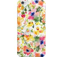 Colorful Poppies iPhone Case/Skin