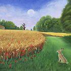 Hare's Path to the Moon by Tamara Clark