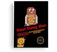 Hawt Dawg Man (The video game) - Life is Strange Canvas Print