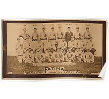 Benjamin K Edwards Collection Philadelphia Athletics baseball card portrait Poster