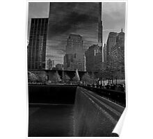 Manhattan Reflections Poster