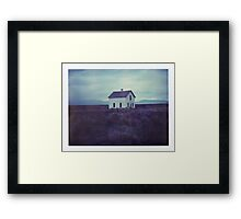 Cottage (Fine Art Photography Print, Polaroid) Framed Print