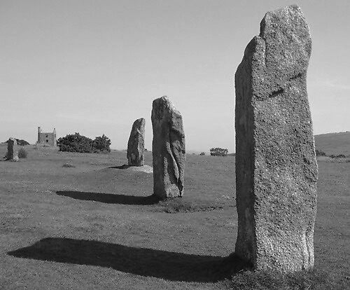 The Hurlers, Minions. Bodmin Moor, Cornwall. by greenstone