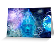 Devine Matrix Greeting Card