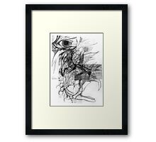 Mechanics of a Bird. Framed Print