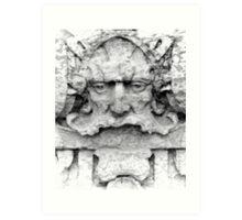 Facade Sculpture Art Print