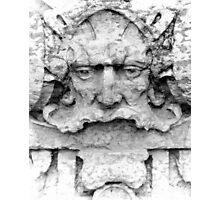 Facade Sculpture Photographic Print